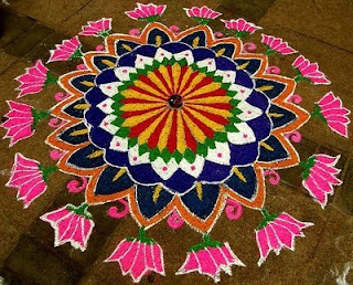 Colorful Diwali Rangoli Wallpapers