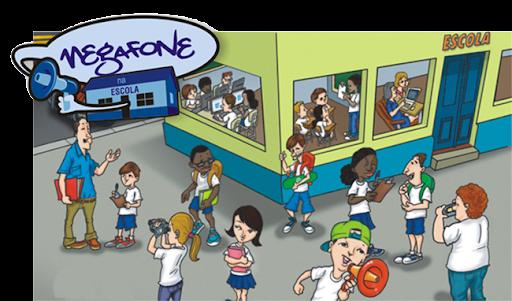 Megafone na Escola
