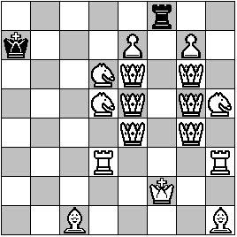 42 maximale Schachparaden