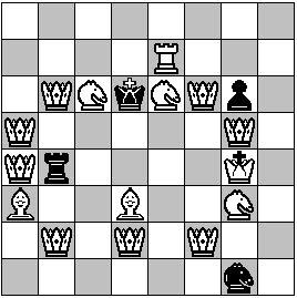 21 maximale Mattparaden auf ein Schach
