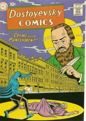 Бэтмен. Преступление и наказание. Комикс по Достоевскому - обложка