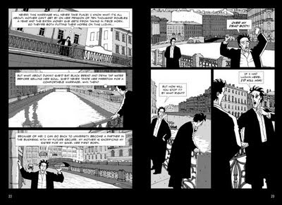 A Graphic Novel page