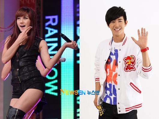 Rainbow seung ah dating