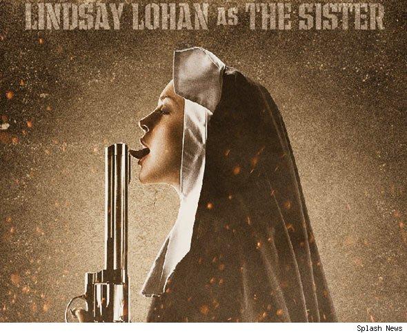 lindsay lohan machete picture. Lindsay Lohan#39;s #39;Machete#39;