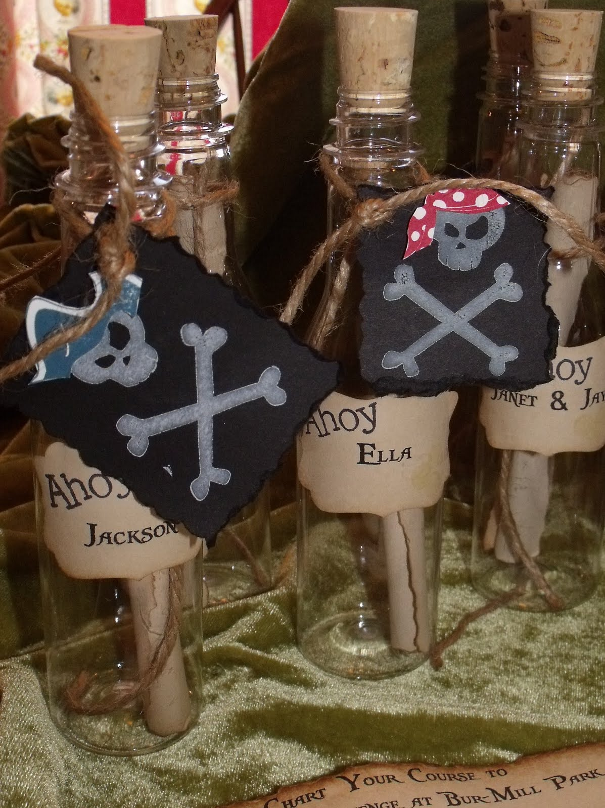Stamp-A-Goo-Goo: Arrrr! It\'s a Pirate Party