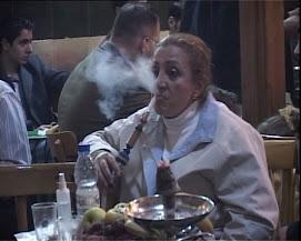 Syrian Women smoking Hubble Bubble!