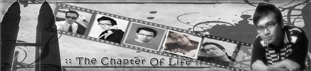 The Chapter Of Life