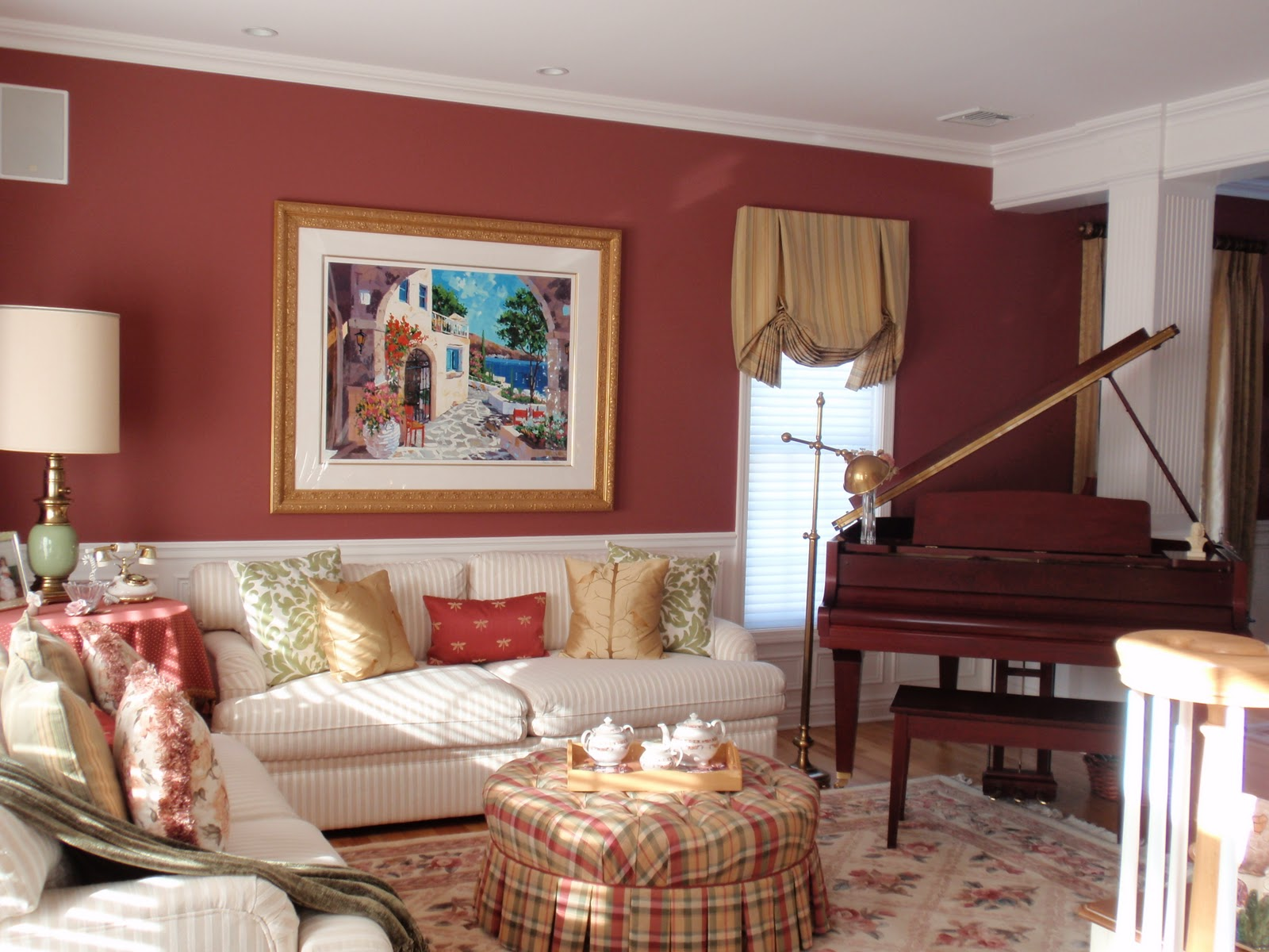 Diy by design finding the perfect furniture arrangement for How to place a piano in a room