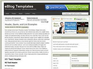 Ads Theme Free Blogger Template
