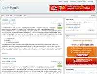 Free Comfy Magazine Premium Blogger Template