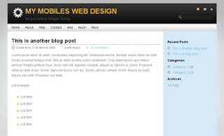 Gear Blogger Template