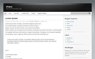 iNovo Blogger Templates
