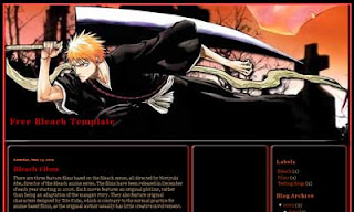 Anime Blogger Template : Bleach