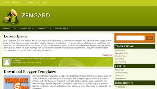 Zengard Blogger Template