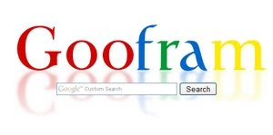 Goofram - Let You Combines Google and Wolfram Results