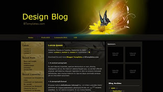 Design Blog 2 Blogger Template