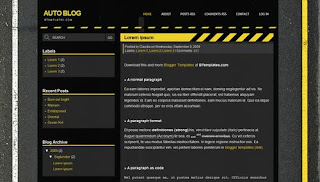 Auto Blog Blogger Template