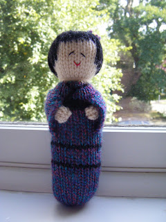 Kokeshi Doll Knitting Pattern : Zo?s Crafts: Knitted Kokeshi Doll