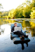 Where authors write when their lease is up