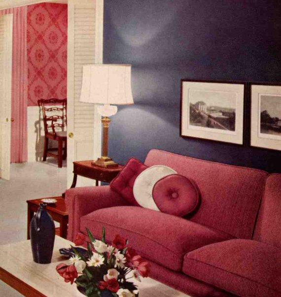 red couch decorating home decorating ideas
