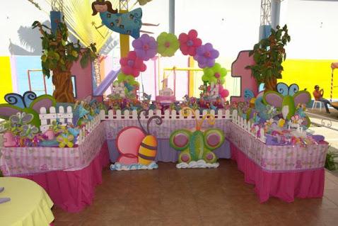Sweet decorations tips para decorar tu evento for Decoracion cumpleanos bebe 1 ano