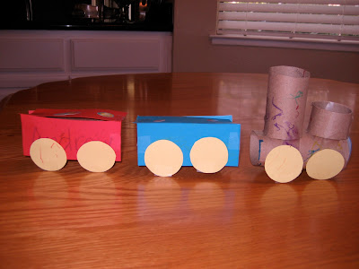 Toddler Approved Toilet Roll Trains