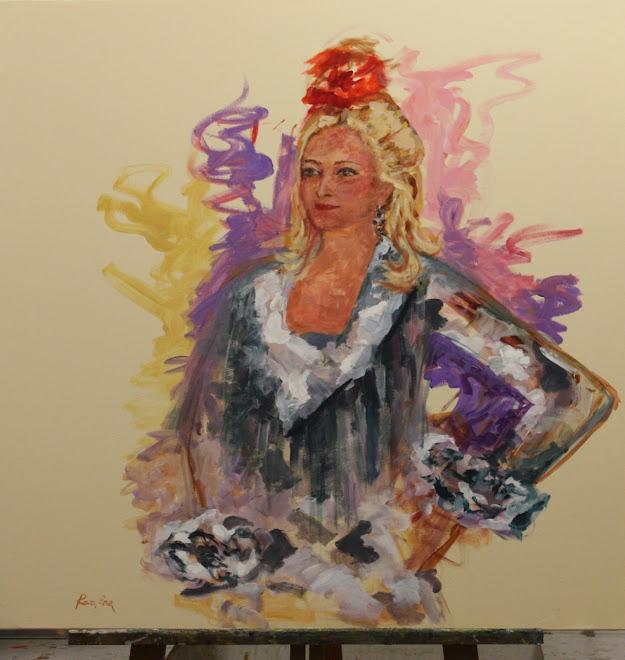 Rosa me pintó así