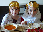 Christmas cracker hats