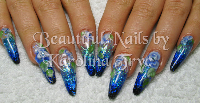 ***NAIL ART *** ACRYLIC *** UV GEL NAILS EXTENSION & OVERLAYS***CRYSTAL NAILS