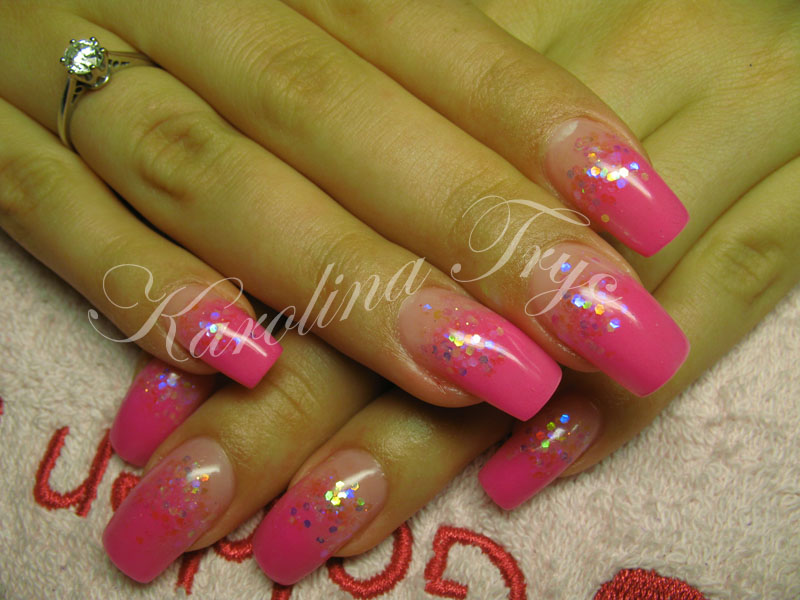 Nail Art Acrylic Gel Nails Extension And Overlays Rebalance