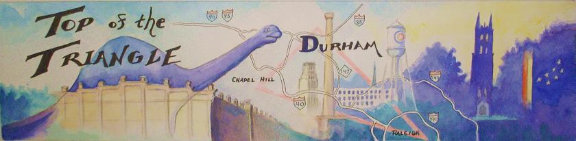 Durham:  Top of the Triangle