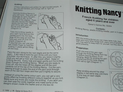 Knitting Nancy Patterns : Knitting Nancy Instructions Images - Frompo