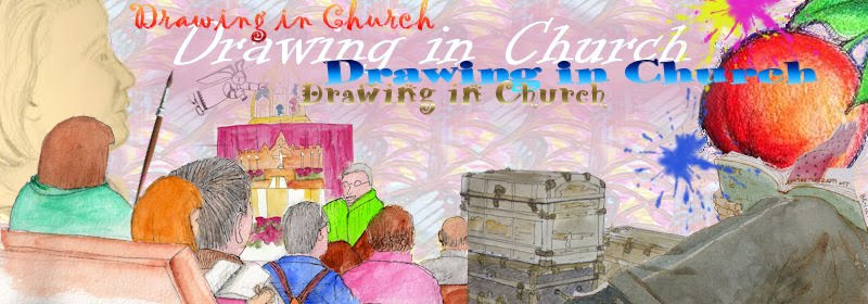 DRAWING   IN   CHURCH