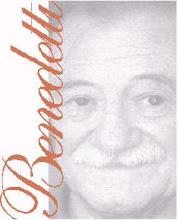 A ti maestro Benedetti,...