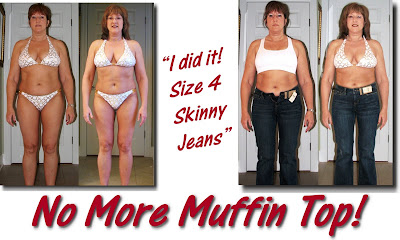 karen+T+ba Goodbye Muffin Top ~ Hello Size 4 Jeans!