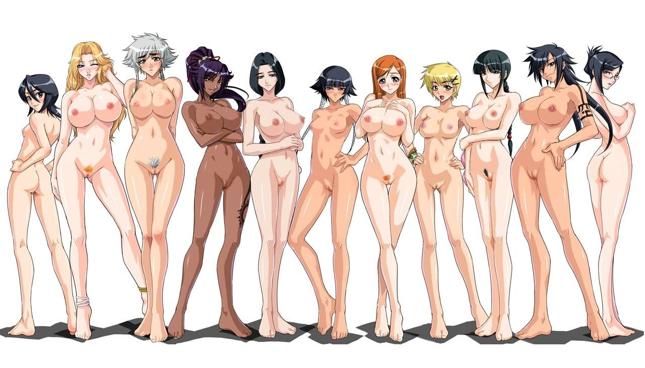 ... Hentai Sexy Hot XXX Bleach Ecchi Porn Ichigo Matsumoto Orihime Rukia ...