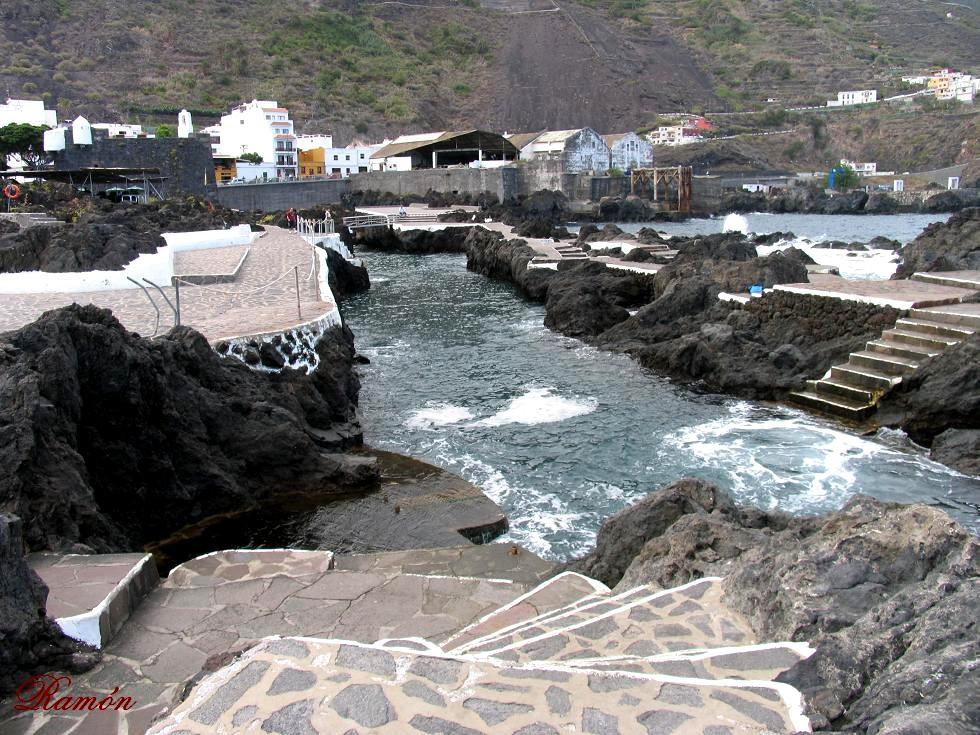 Nuestra isla tenerife garachico en la isla de tenerife for Piscinas naturales de garachico
