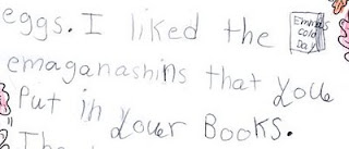 Big Compliment from a Little Reader