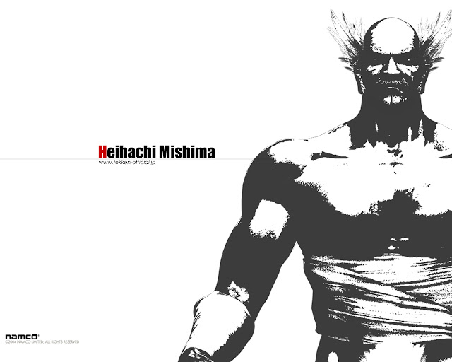heihachi mishima 50 Best Tekken Game HD Wallpapers