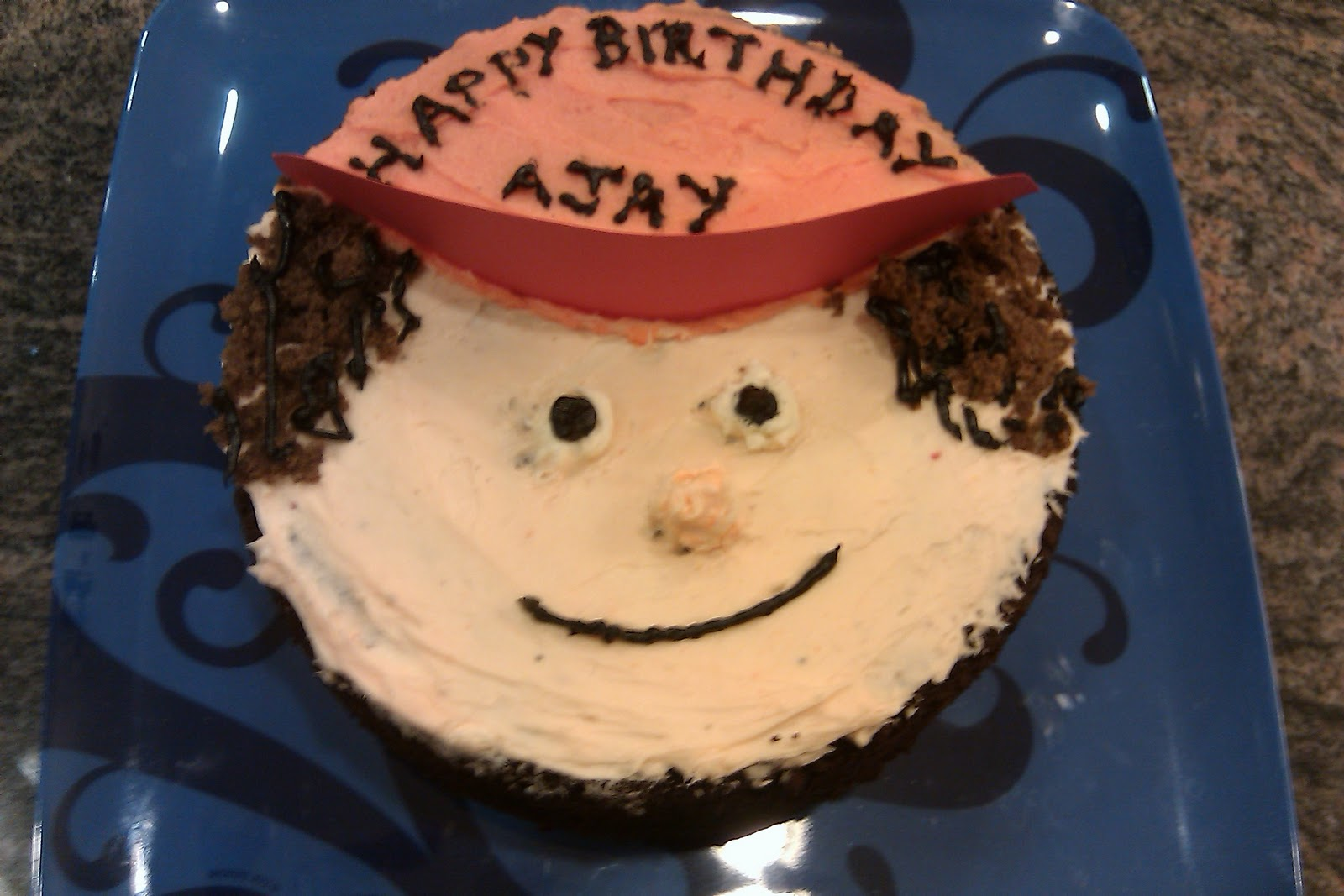 Cake Images With Name Ajay : Pin Mr Singh And Mrs Mehta Uncut Video Cake on Pinterest