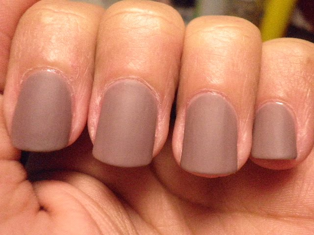 Chromatic Misadventures™: Sephora by OPI Metro Chic Matte with ...