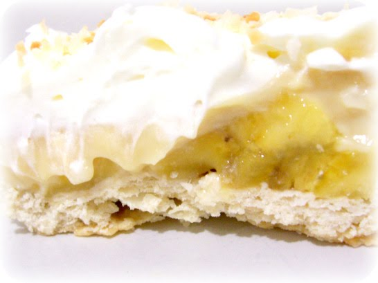 Banana Coconut Cream Pie - Jellibean Journals