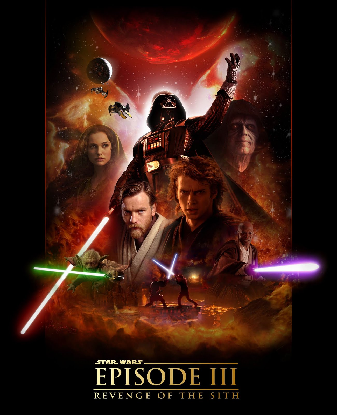 Star Wars: Episode III (2005) Poster