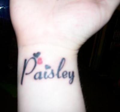 Kids Name Tattoos On Wrist