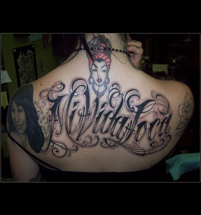 Tattoo Lettering. Andgetting a picture industry is highly visual,