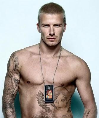beckham tattoo. david eckham tattoos chest.