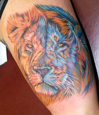 lion tattoos desings