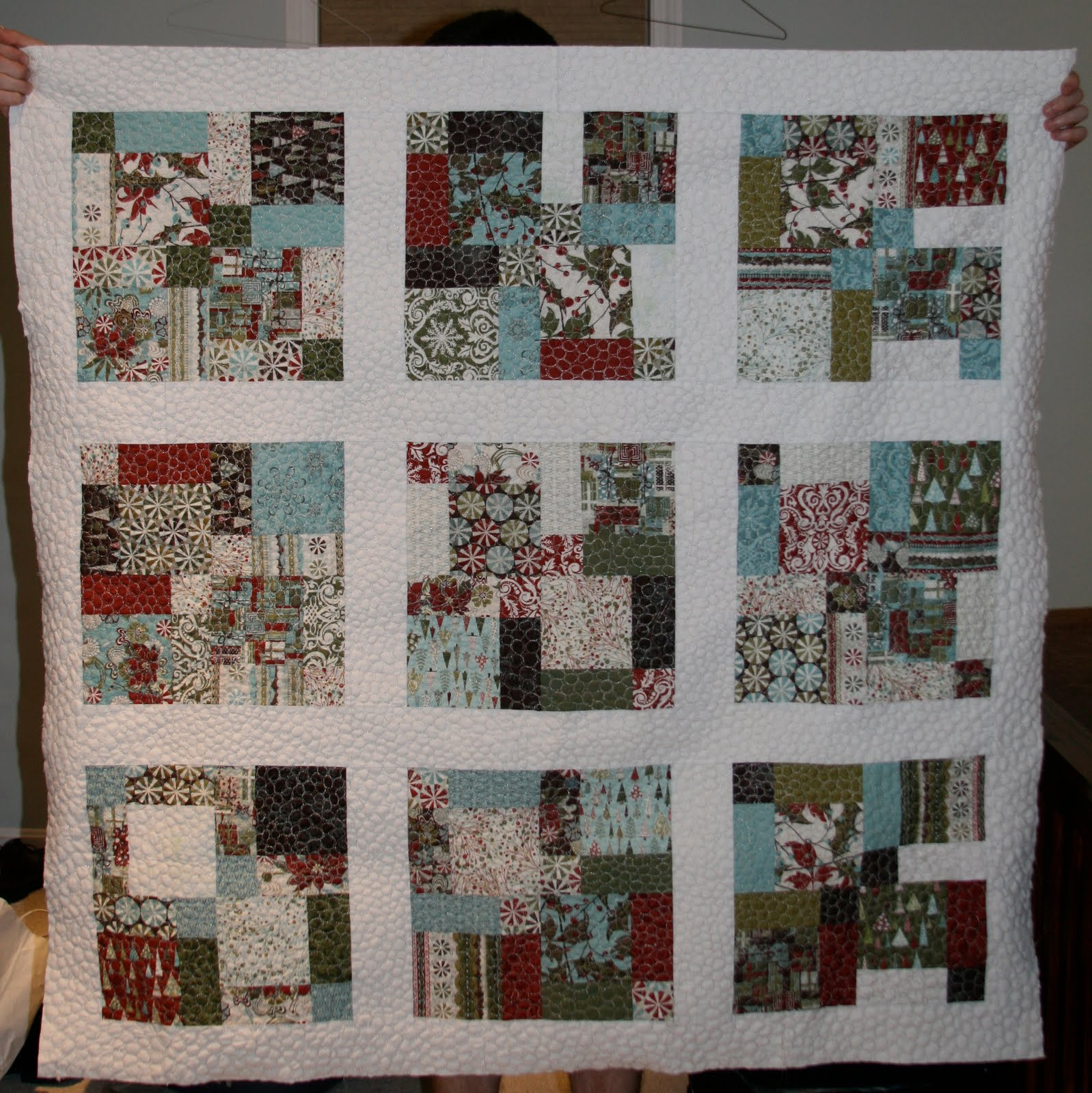 A Quilting Jewel: July 2010 : figgy pudding quilt pattern - Adamdwight.com