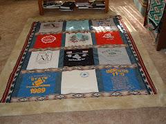 Nathan's T-Shirt Quilt