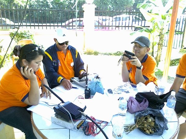 RADIO OPERATOR DI BASE CAMP